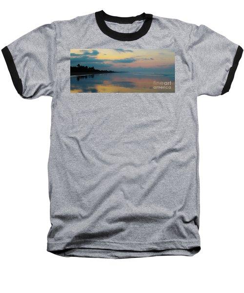 la Casita Playa Hermosa Puntarenas - Sunrise One - Painted Beach Costa Rica Panorama Baseball T-Shirt