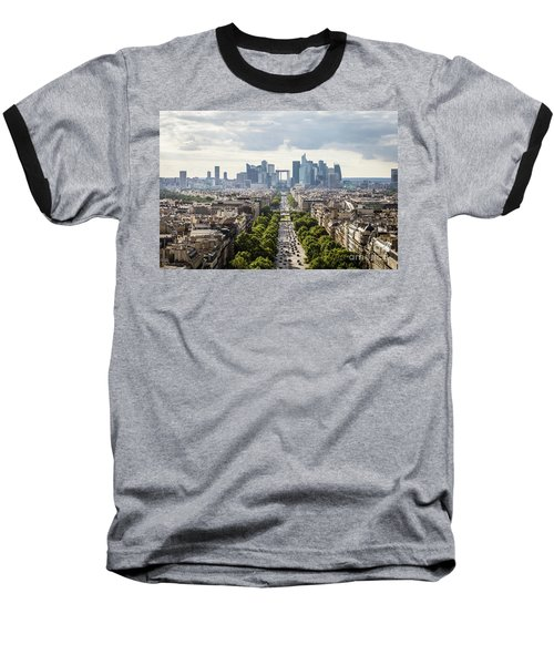 La Defense Paris Baseball T-Shirt