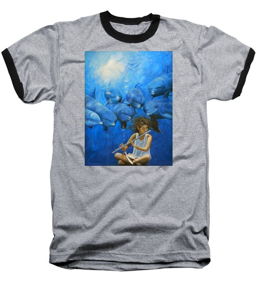 La Flautista Baseball T-Shirt