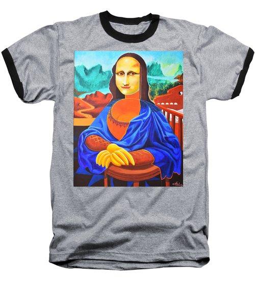 La Joconde Sur La Table Au Bol Vide Baseball T-Shirt