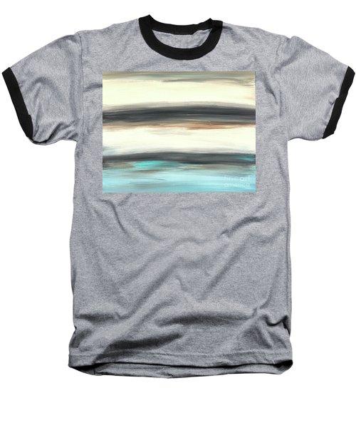 La Jolla #2 Seascape Landscape Original Fine Art Acrylic On Canvas Baseball T-Shirt