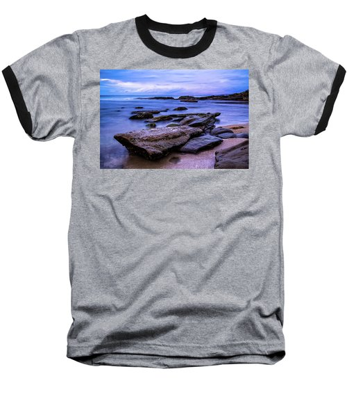 La Jolla Cove Twilight Baseball T-Shirt