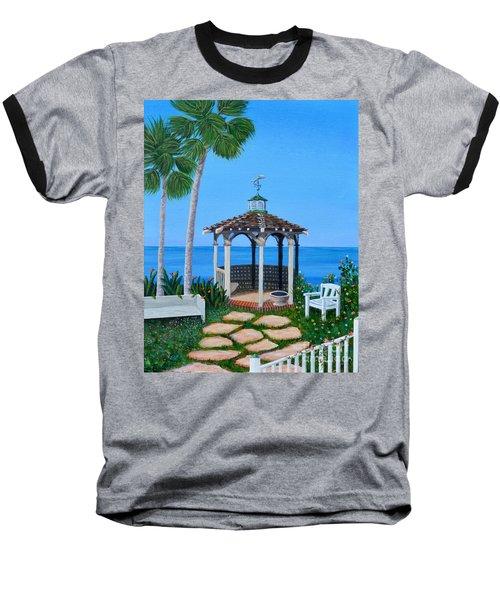 La Jolla Garden Baseball T-Shirt