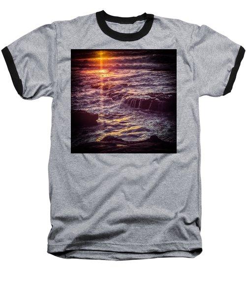 La Jolla Sunset Baseball T-Shirt