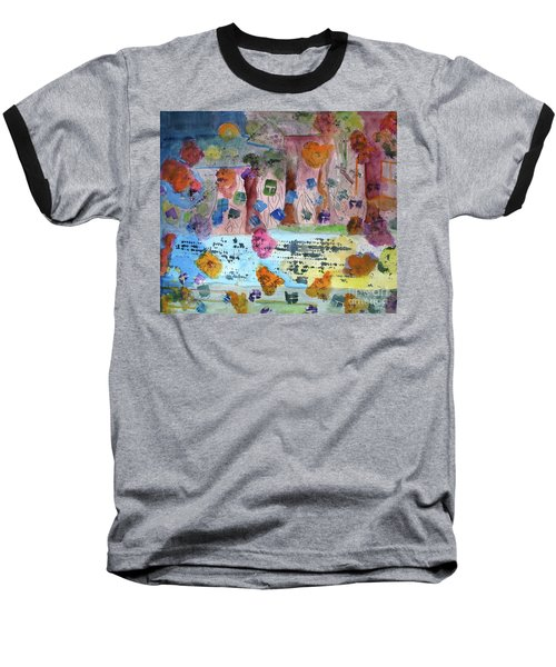 La-la Land Baseball T-Shirt by Sandy McIntire
