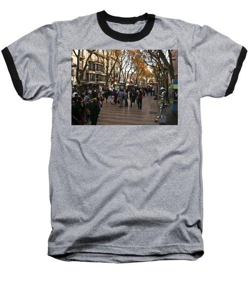 La Rambla II Baseball T-Shirt