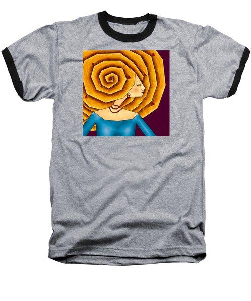 La Ruche Baseball T-Shirt by Brenda Bryant