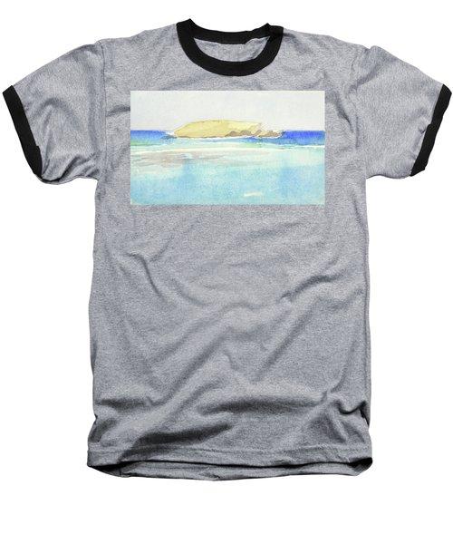 La Tortue, St Barthelemy, 1996 100x60 Cm Baseball T-Shirt