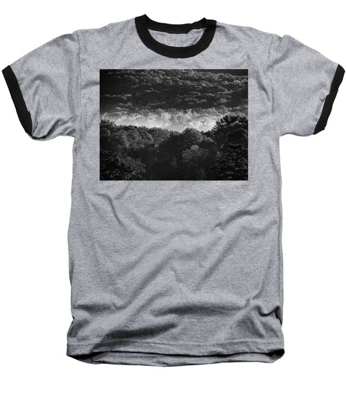 Baseball T-Shirt featuring the photograph La Vallee Des Fees by Steven Huszar