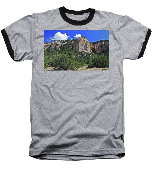 Baseball T-Shirt featuring the photograph La Ventana Arch by Gary Kaylor