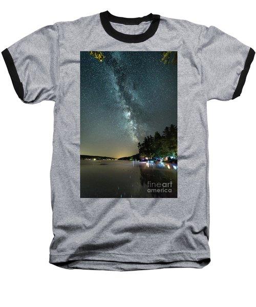Labor Day Milky Way In Vacationland Baseball T-Shirt