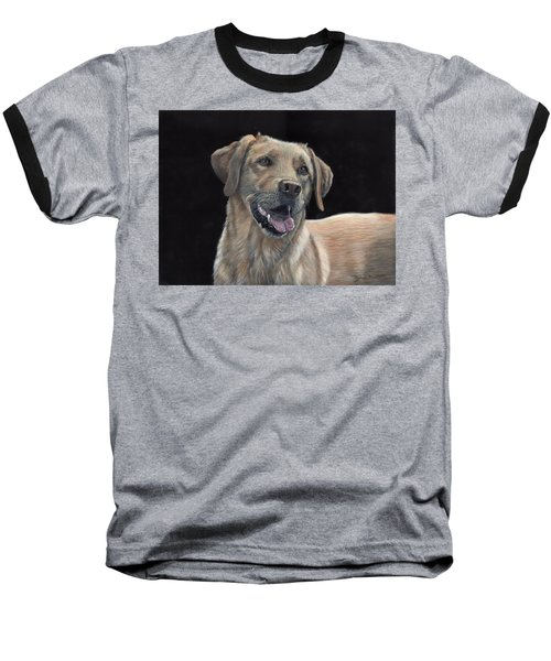 Labrador Portrait Baseball T-Shirt