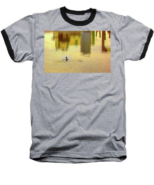 Labyrinthine #d7 Baseball T-Shirt by Leif Sohlman