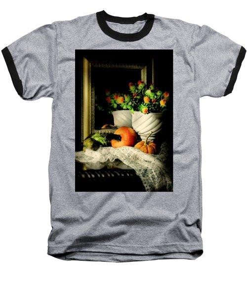 Lace And Mirror Baseball T-Shirt