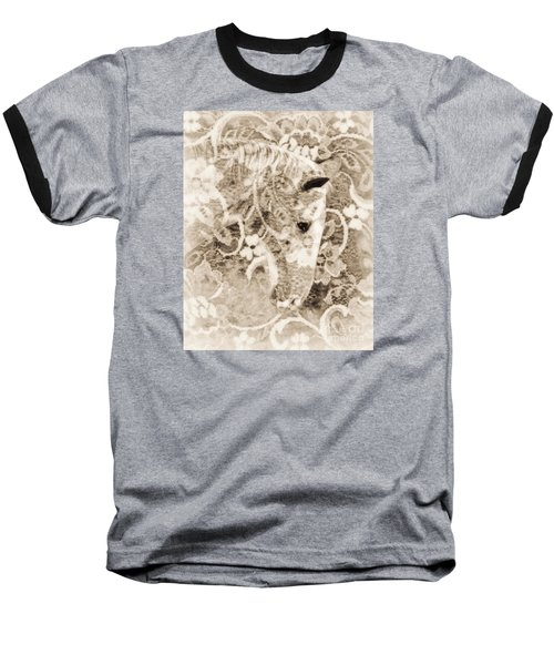 Baseball T-Shirt featuring the photograph Lacey by Lila Fisher-Wenzel