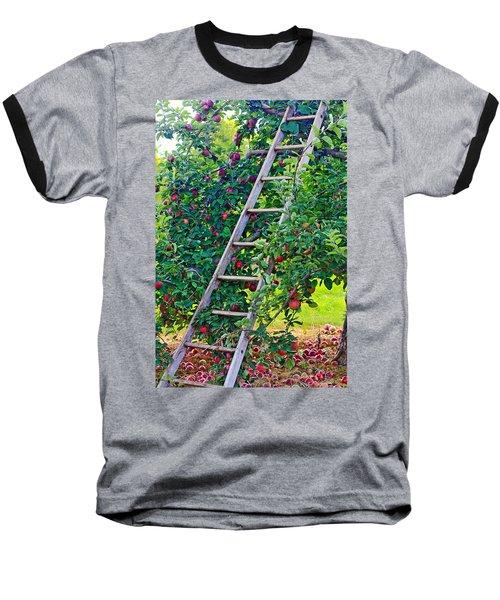 Ladder To The Top Baseball T-Shirt