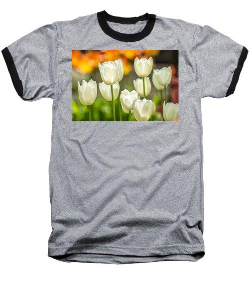 Ladies In White Baseball T-Shirt