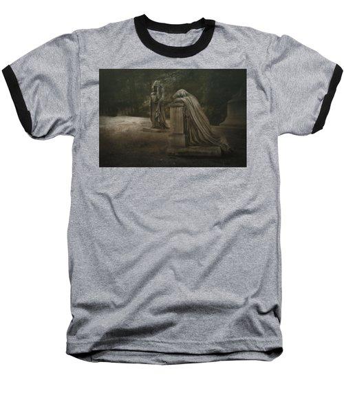 Baseball T-Shirt featuring the photograph Ladies Of Eternal Sorrow by Tom Mc Nemar