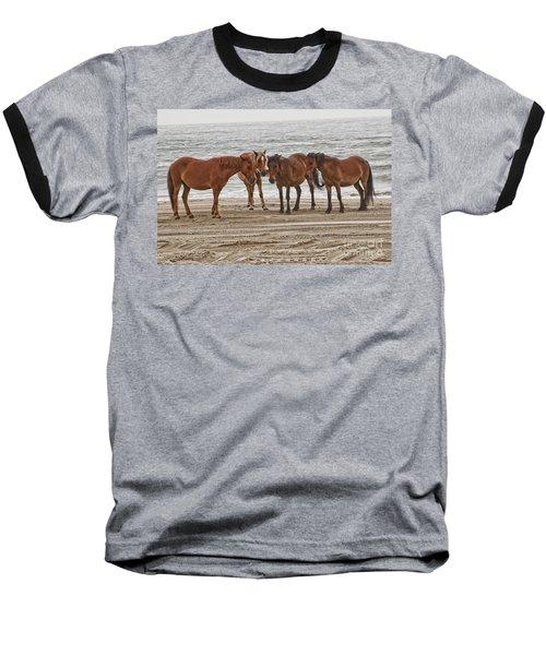 Ladies On The Beach Baseball T-Shirt