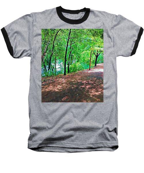 Lady Bird Trail Baseball T-Shirt