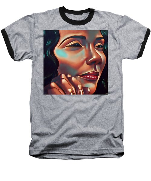 Lady Coretta Baseball T-Shirt