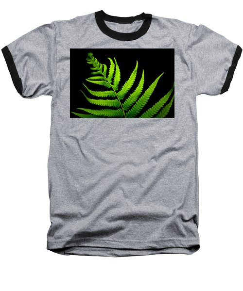 Lady Green Baseball T-Shirt