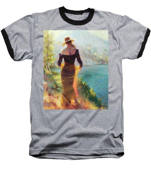 Lady Of The Lake Baseball T-Shirt