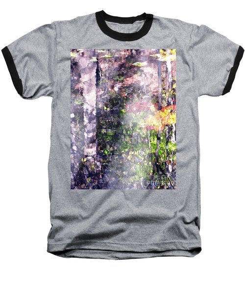 Baseball T-Shirt featuring the photograph Lady On Water by Melissa Stoudt