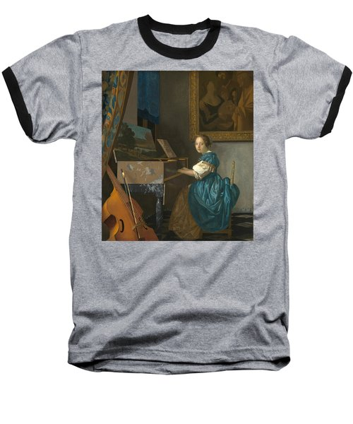 Lady Seated At A Virginal Baseball T-Shirt