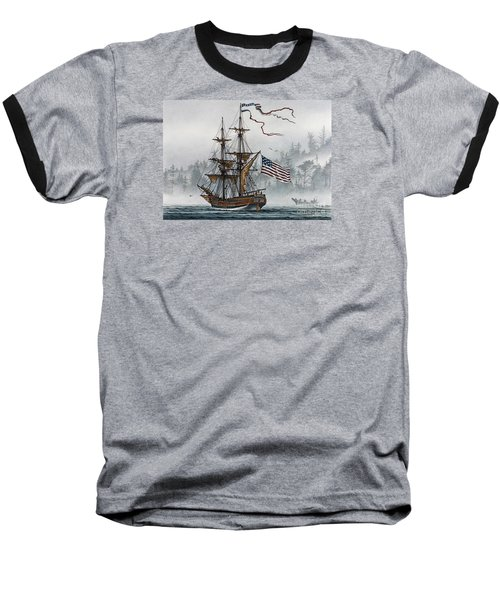 Lady Washington Baseball T-Shirt by James Williamson