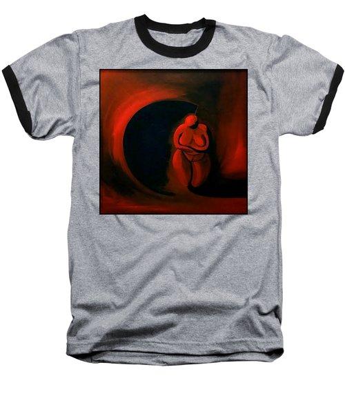 Lady Willendorf Baseball T-Shirt