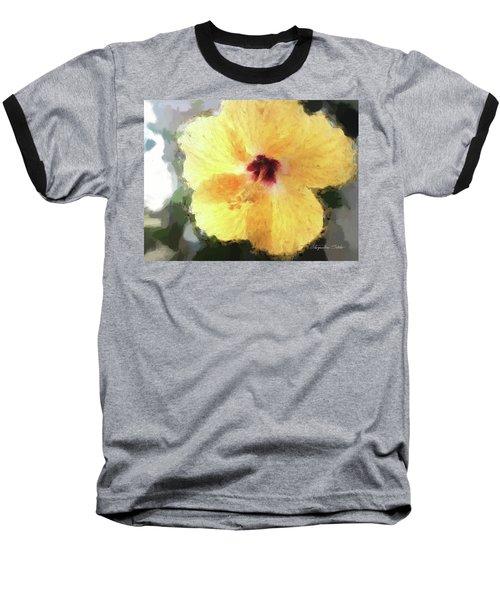Lady Yellow Baseball T-Shirt