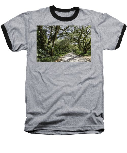 Ladybug Lane Baseball T-Shirt by Fran Gallogly