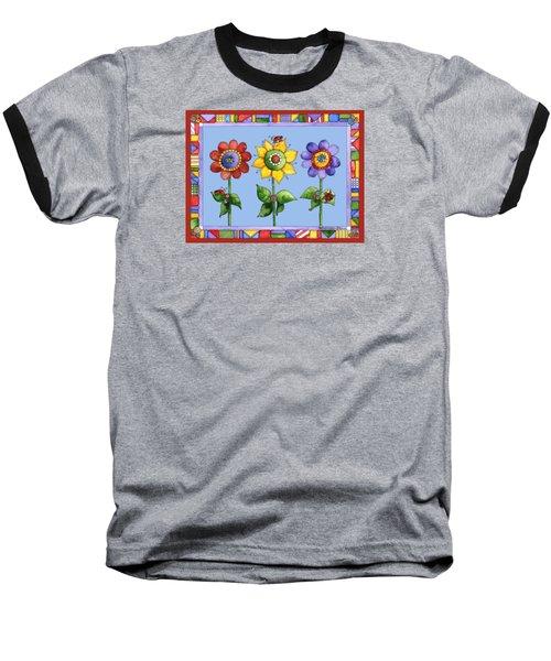 Ladybug Trio Baseball T-Shirt