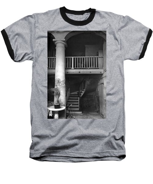 Lafittes Patio At The Absinthe House Baseball T-Shirt