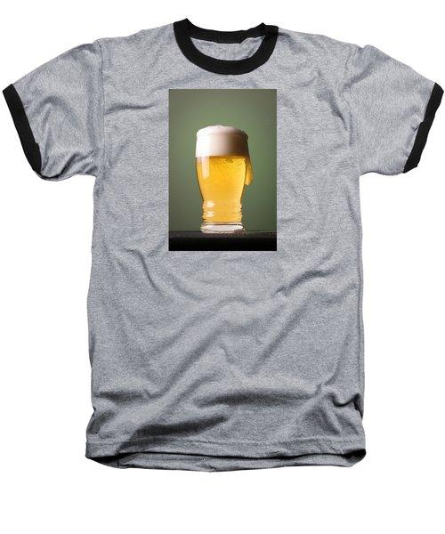 Lager Beer Baseball T-Shirt by Silvia Bruno