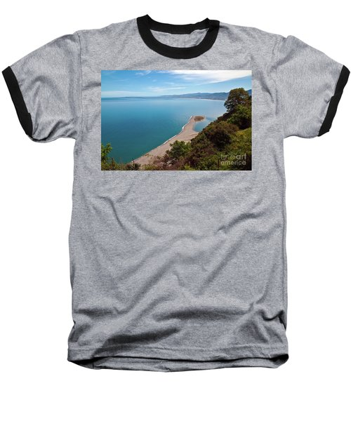 Lagoon Of Tindari On The Isle Of Sicily  Baseball T-Shirt