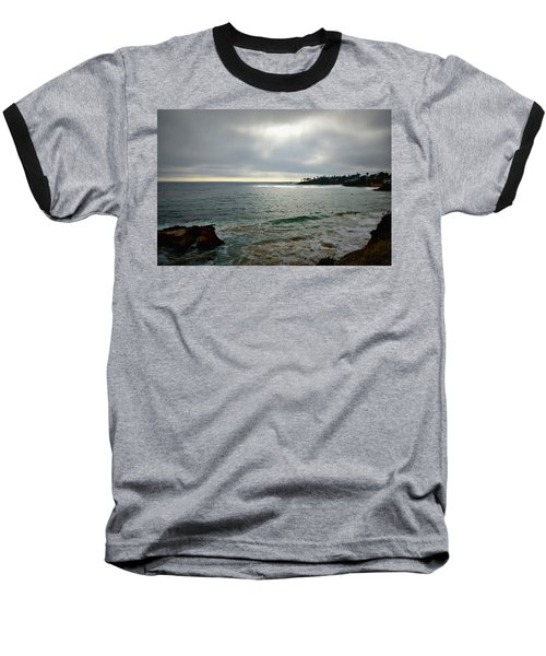 Laguna Beach Sunset Baseball T-Shirt