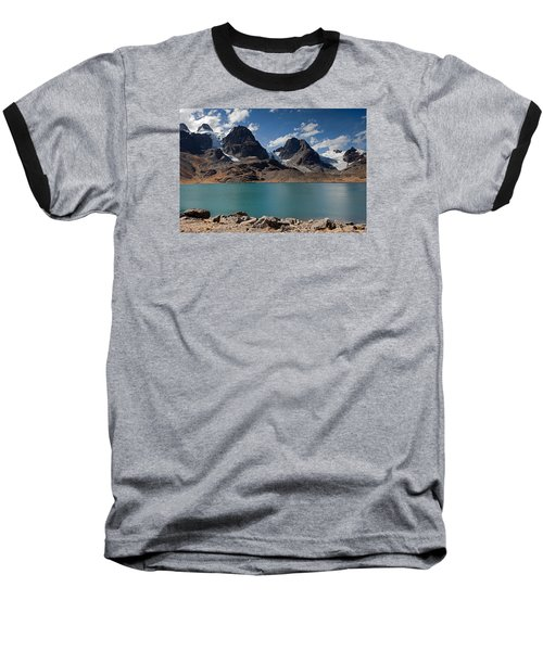Laguna Chiar Khota In Condoriri Mountains Baseball T-Shirt