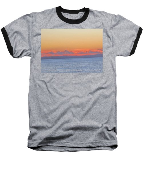 Laguna Orange Sky Baseball T-Shirt