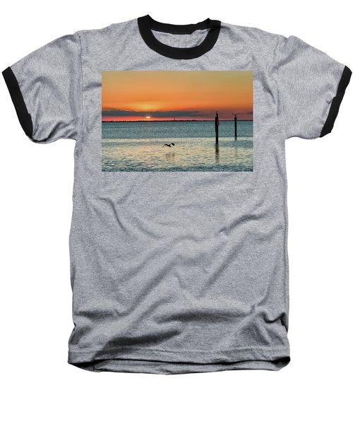Laguna Vista Sunset Baseball T-Shirt