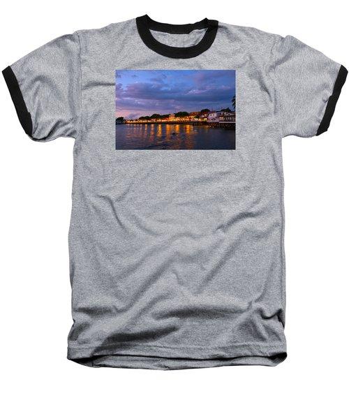 Lahaina Roadstead Baseball T-Shirt by James Roemmling