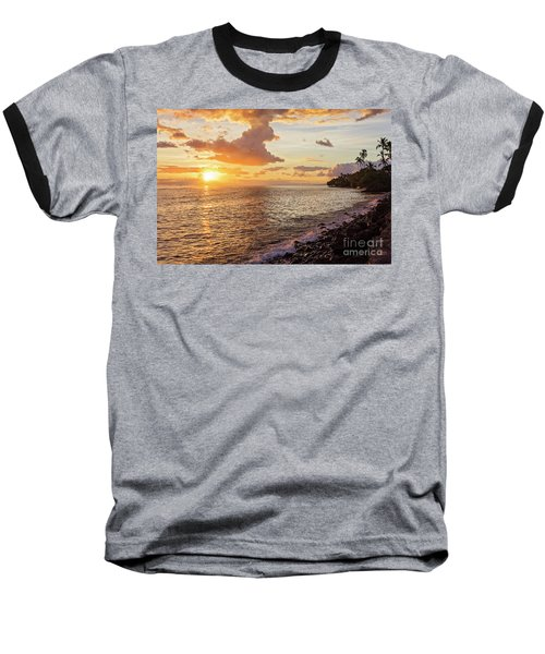 Lahaina Sunset Baseball T-Shirt
