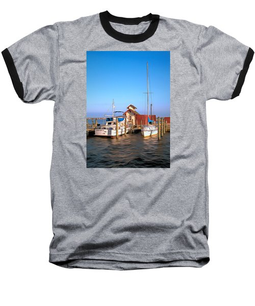 Baseball T-Shirt featuring the photograph Laid Back by Marion Johnson