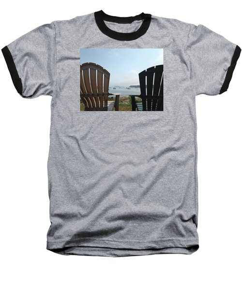 Baseball T-Shirt featuring the digital art Laid Back by Olivier Calas