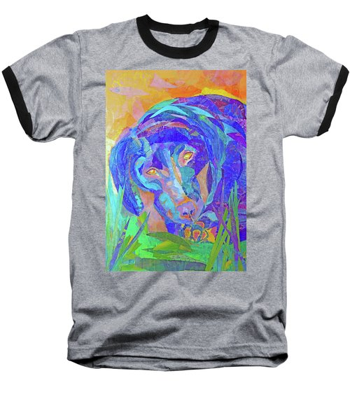Laila The Lab Baseball T-Shirt
