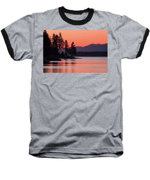 Lake Almanor Twilight Baseball T-Shirt
