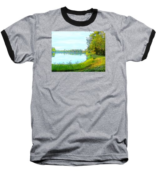 Lake And Woods Baseball T-Shirt