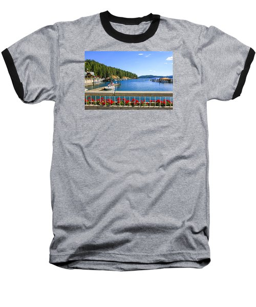 Lake Coeur D'alene Baseball T-Shirt