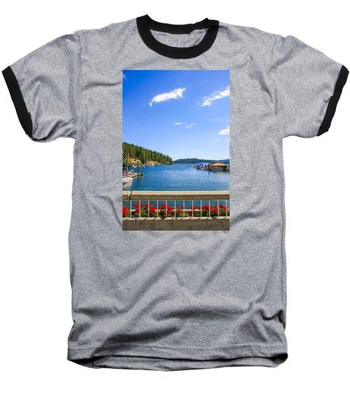 Lake Coeur D'alene Idaho Baseball T-Shirt